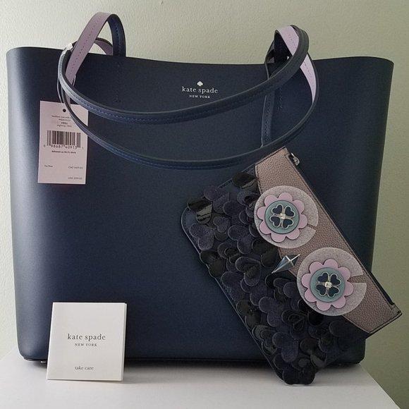 kate spade Handbags - $189/$359 *NEW* KATE SPADE zibbi medium tote & …